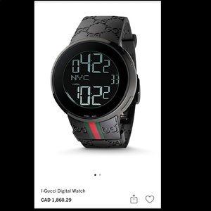 I-Gucci Digital Watch